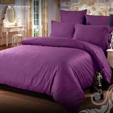 Сатин однотонный фиолетовый