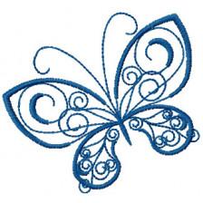 """Вышивка """"Бабочка 3"""""""